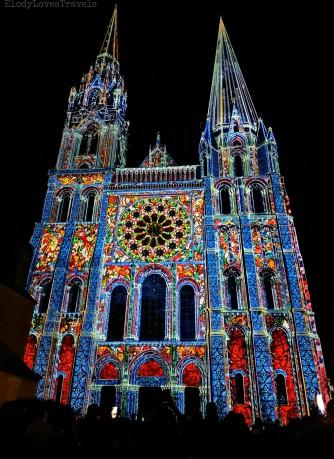 Cathédrale Chartres en lumières