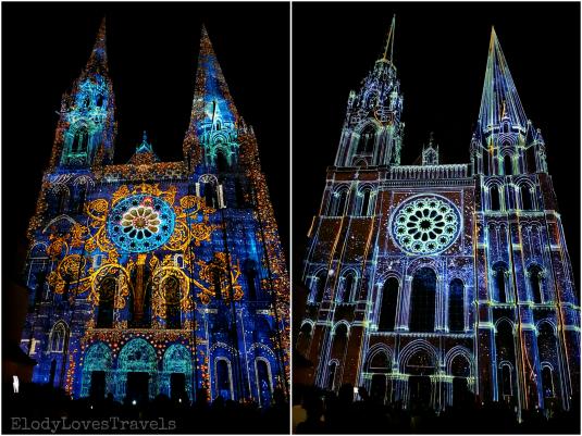 Chartres en lumières cathédrale