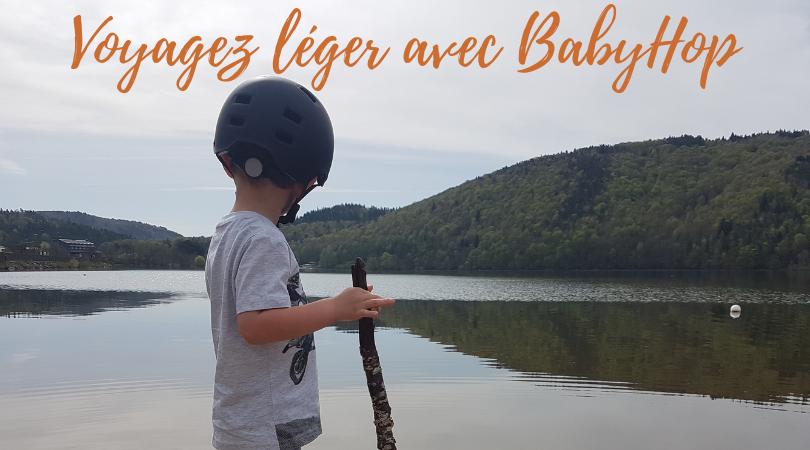 Voyagez léger avec BabyHop